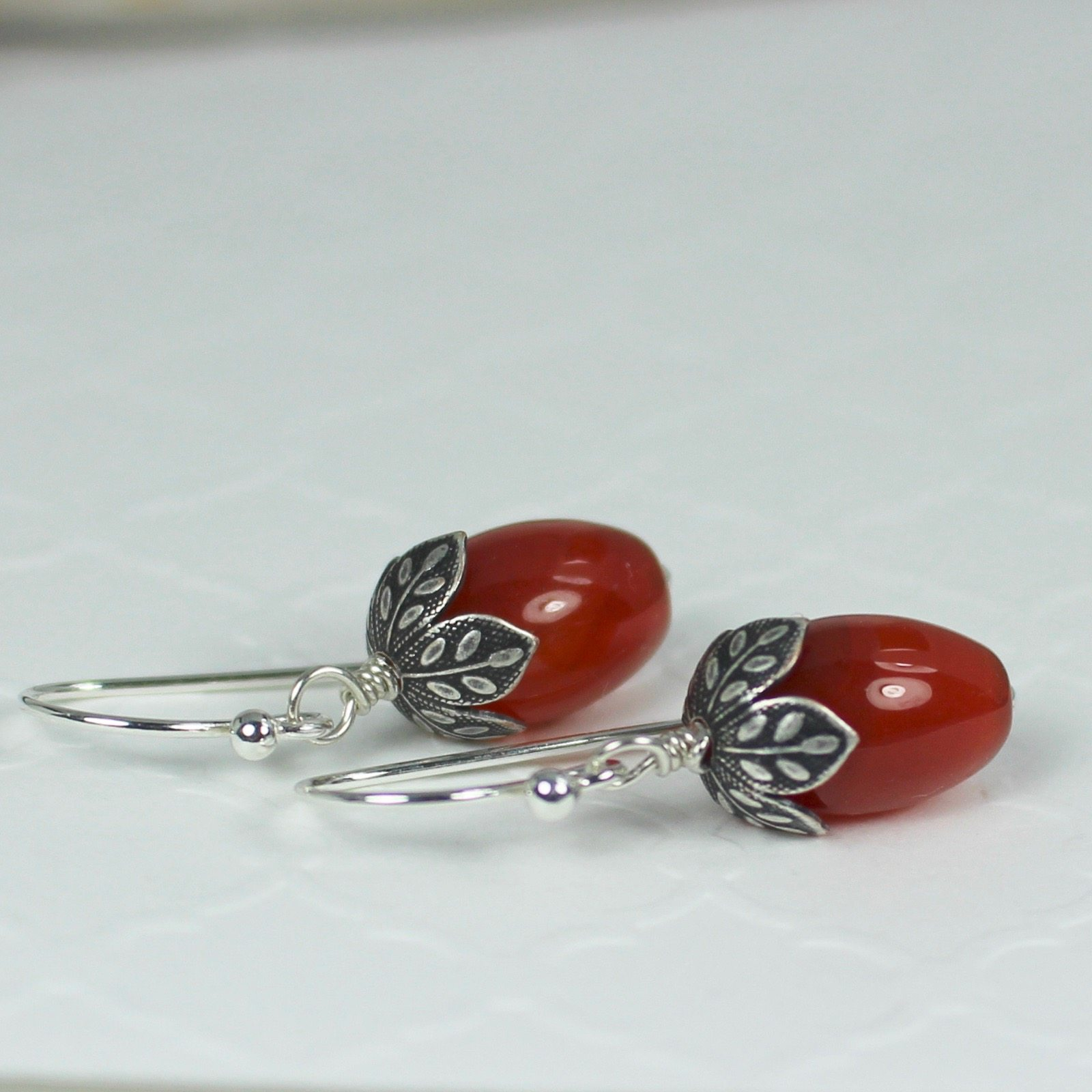 ball listing deco art dkrv dangle chain silver jewelry post carnelian fullxfull keiser earrings sterling il