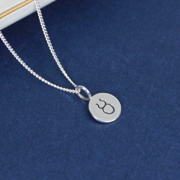 zodiac taurus product necklace