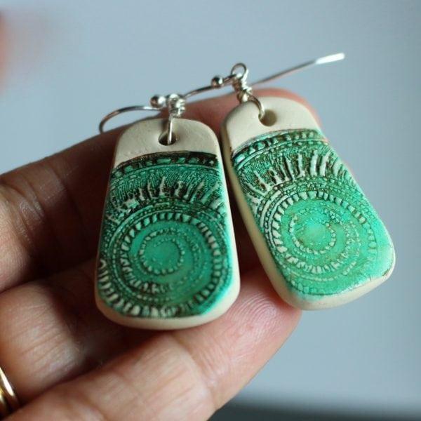 Nautilus Shell earrings